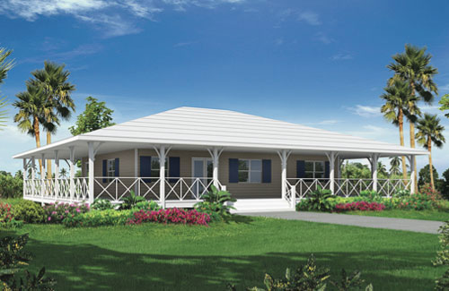 Point house wrinkle development for Island style house plans